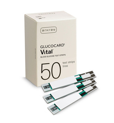 Glucocard Vital Blood Glucose Test Strips