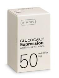 Glucocard Expression Blood Glucose Test Strips