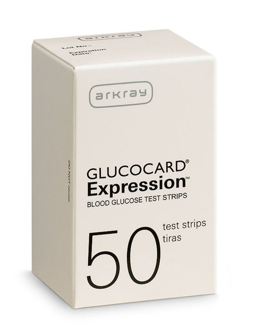 Glucocard Expression Blood Glucose Test Strips