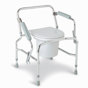 Commode with Drop Arm