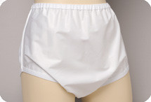 Salk Sani-Pant Pull-on Plasticized Nylon Brief for Men and Women - Small