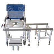 MJM All Purpose Dual Shower/Transfer Chair