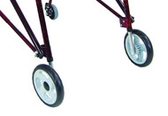 "Drive Nimbo Lightweight Posterior Posture Walker - 9"" Non-Swivel Front Wheels with Inner Legs"
