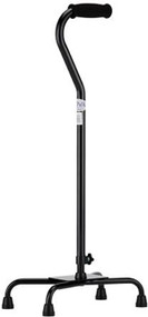 Quad Cane - Large Base - Black