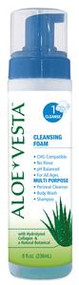 ConvaTec Aloe Vesta Cleansing Foam - 8 oz