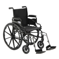 "Invacare 9000 SL Wheelchair - 16"" x 16"" with Fixed Height Space-Saver Desk Arm"
