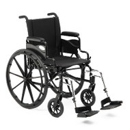 "Invacare 9000 XT Wheelchair - 18"" x 16"" with Fixed Height Space-Saver Desk Arm"