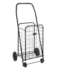 Black Briggs Folding Shopping Cart of ACG Medical Supply in Rowlett