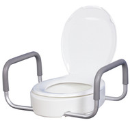 Drive Toliet Seat Riser with Removable Arms