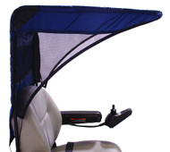 Diestco Weatherbreaker Canopy - Vented Model - Navy Blue