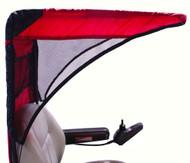 Diestco Weatherbreaker Canopy - Vented Model - Cranberry Red