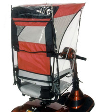 Diestco Weatherbreaker Canopy - Max Protection - Cranberry Red