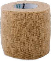 """ReliaMed Cohesive Elastic Bandage, Latex-Free, 2"""" x 5 yds., Tan, Non-Sterile, Each"""