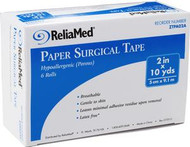 "ReliaMed 2"" x 10 yds. Tape, Paper, Roll"
