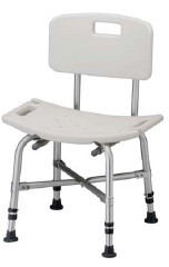 Roscoe Medical Bariatric Bath Bench with Backrest