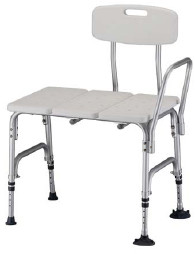 Bariatric Bath Transfer Bench with Backrest