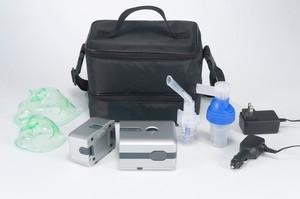 DeVilbiss Traveler Portable Compressor Nebulizer System