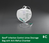 Bard Urine Drainage Bag - Double Hook