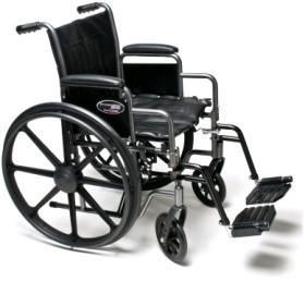 "Buy Everest & Jennings Traveler HD Wheelchair (24"" x 18"") Swingaway Footrest at ACG Medical Supply"