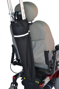 Diestco Crutch Holder for Electric Scooters and Power Wheelchairs