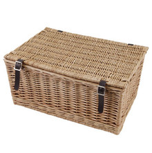 "20"" Traditional Wicker Hamper Basket"