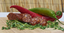Chilli Salami Stick - 6-7 Inches