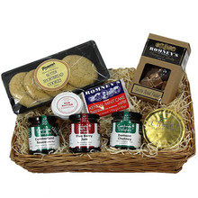 The Cumbrian Grasmere Gift Wicker Basket