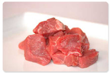 Cumbrian Stewing Steaks - 4 per pack (250g) - 1kg Pack