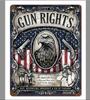 """GUN  RIGHTS"" METAL SIGN"