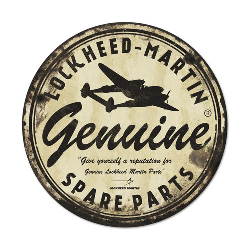 LOCKEED-MARTIN  SPARE   PARTS   SIGN