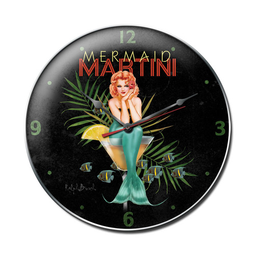 """MERMAID  MARTINI""  CLOCK"