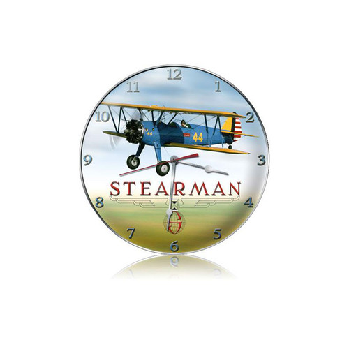"""STEARMAN""  VINTAGE  CLOCK"