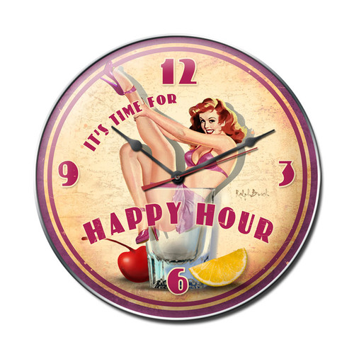 """HAPPY  HOUR ""  CLOCK"