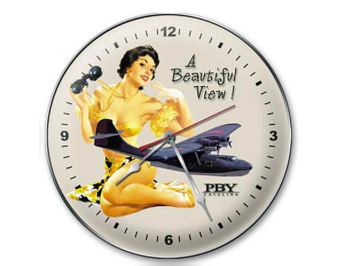 """BEAUTIFUL VIEW CLOCK"""