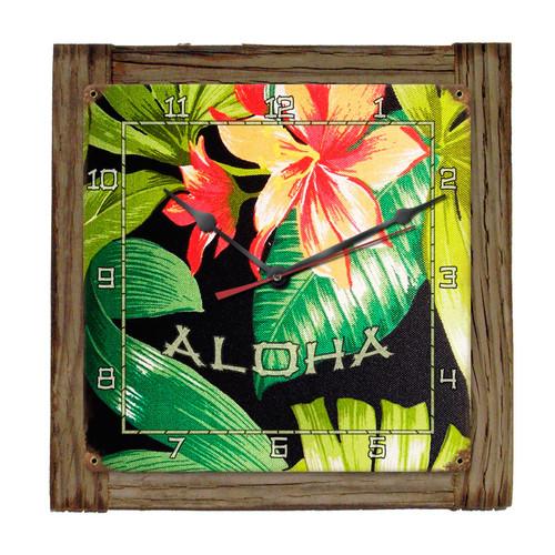 """ALOHA""  CLOCK"