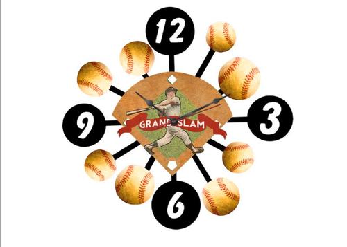 """""""GRAND  SLAM""""  CLOCK"""