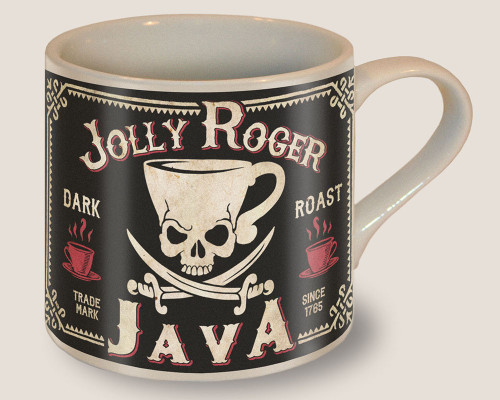 """JOLLY  ROGER  JAVA""  MUG"