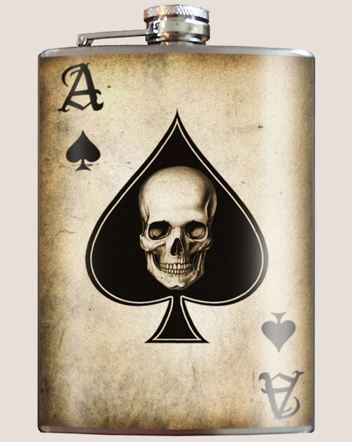 """Ace of Spades"" - Flask"