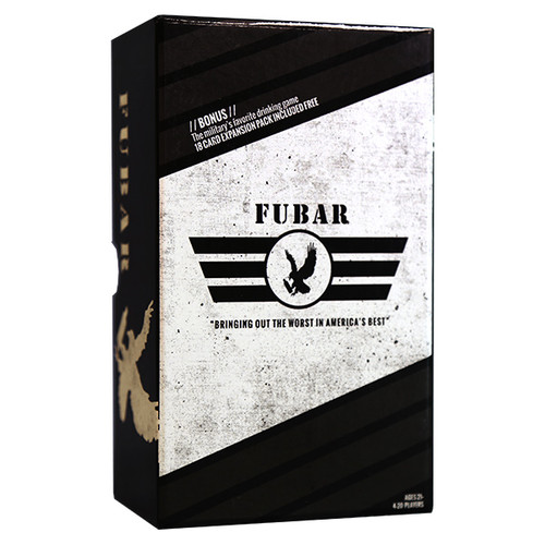 """FUBAR""   CARD  GAME  (""A hilarious game that brings out the worst in America's Best!!"")"