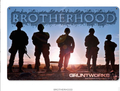 """BROTHERHOOD"" METAL SIGN"