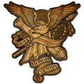 """DUTY,  HONOR,  COUNTRY""  METAL  SIGN"