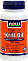 NOW Foods Neptune Krill Oil 500mg
