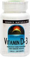 Source Naturals Vitamin D-3 1000IU
