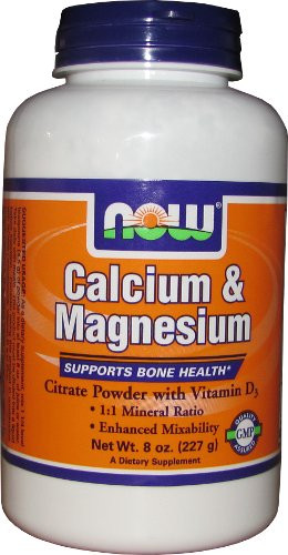 NOW Calcium Magnesium Powder