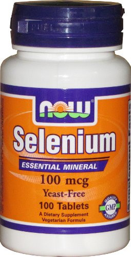 NOW Foods Selenium 100 mcg