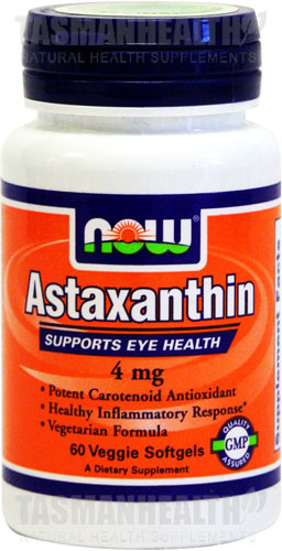 NOW Foods Natural Astaxanthin 4mg