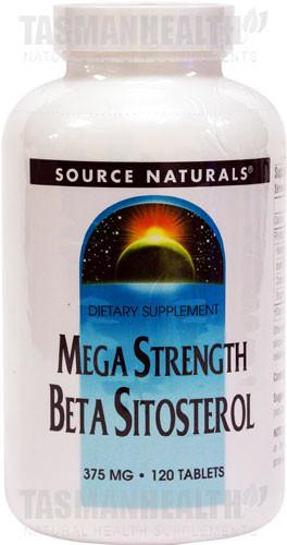Source Naturals Beta Sitosterol 375mg
