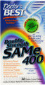 Doctor&#039;s Best Double Strength SAM-e 400mg