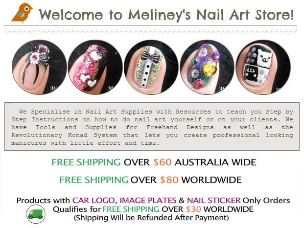 The different nail art designs image