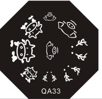 Farm Animal Plate QA33